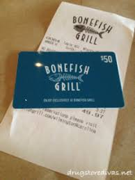 bonefish gift card review bonefish grill s new menu drugstore divas