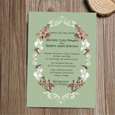 vintage wedding invitations cheap shabby chic vintage floral wedding invitation iwi275 wedding