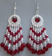 Red Chandelier Earrings Red Chandeliers U2013 Kathleenoatway Com