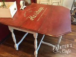 Hand Painted Love Anchors The - hand painted furniture at the painter s cafe winnipeg the