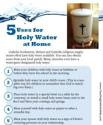 do you holy water at home holy water gifts