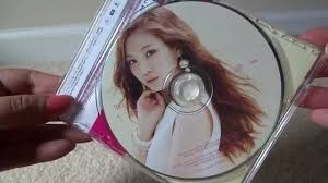 unboxing apink luv japanese single naeun ver youtube