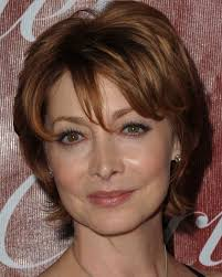 short hair with bangs for mature women short hair cuts for older