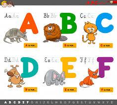 imagenes educativas animadas letras del alfabeto educativo de dibujos animados para el