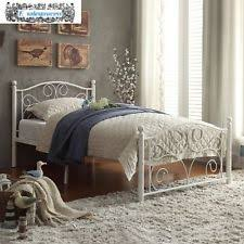 Cheap White Headboard by Liberty Furniture Vintage Twin Metal Headboard In Distressed White