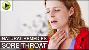 sore throat natural ayurvedic home remedies youtube