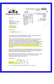 Complaints Letter To Hospital social services