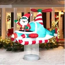 christmas inflatables outdoor christmas yard decorations 8 indoor outdoor led