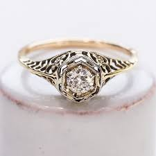 1920s engagement rings winnow antique 1920 s diamond solitaire filagree ring