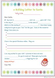 letter to santa and printables for organizing the home and family