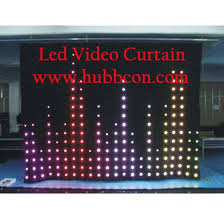 Curtain Vision Led Video Vision Curtain Products
