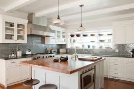 Grey Subway Tile Backsplash Kitchen Traditional With White - Grey subway tile backsplash