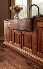 Rustic Hickory Kitchen Cabinets Rustic Farmhouse Kitchen Kitchen Pinterest Rustic Farmhouse