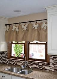 kitchen window valances ideas 1000 ideas about kitchen window valances on window to