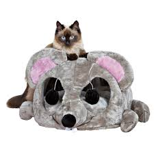 Trixie Cat Hammock by Trixie Gray Lukas Cuddly Cave 36290 The Home Depot