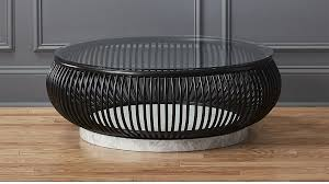 Rattan Coffee Table Rattan Coffee Table With Glass Top In Coffee Tables