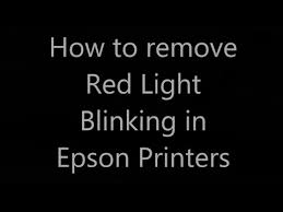 printer epson l210 minta reset epson l210 red light blinking problems and solutions to fix