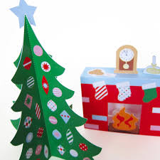 cozy christmas paper craft decorations fantastic toys