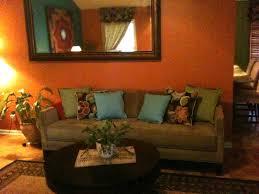 100 teal livingroom living room at orange and brown birdcages