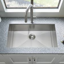edgewater 33x22 stainless steel kitchen sink american standard
