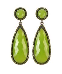 green drop earrings lime green drop earrings susan hanover designs