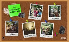 Speech Garden Summer Camp - home green camp at green bali