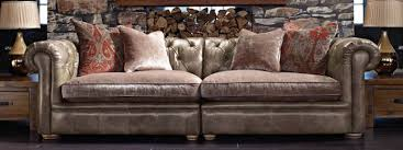 Fabric Leather Sofa Marvellous Fabric Leather Sofa Sofas Leather Sofas Fabric