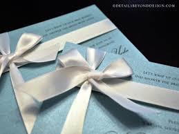 details beyond design by lauren tiffany box bridal shower invitations