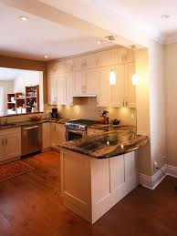 Small U Shaped Kitchen With Island Outstanding Small U Shaped Kitchen With Peninsula Photo Design
