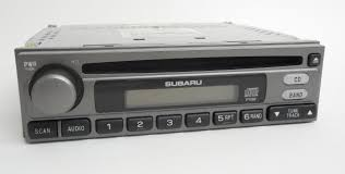 baja subaru subaru baja 2004 2006 am fm cd player part number 86201ae41a