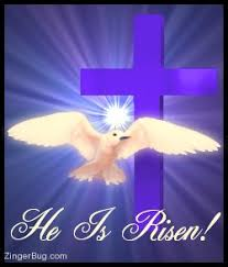 He Is Risen Meme - he is risen cross dove glitter graphic greeting comment meme or gif
