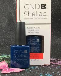 big cnd shellac peacock plume 91753 gel color coat l gel nails com