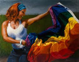 Waving Flag Artist Waving Pride Circé U0027s Art