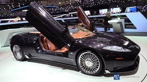 Spyker C8 Aileron Interior 2017 Spyker C8 Preliator Spyder Exterior Interior Walkaround