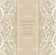 Wallpaper Invitation Card Abstract Background Lacy Frame Border Pattern Wedding Invitation
