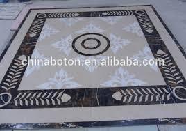 china manufacturer waterjet marble tiles design floor pattern for