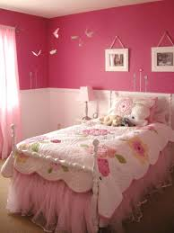 pink bedding for girls pink wall bedroom with floral bedding and framed hanging