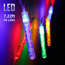 battery operated stick on lights 7 22ft 20 led bubble stick string lights utility ambiance lighting