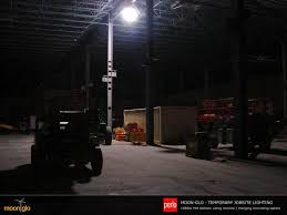 temporary job site lighting tripod balloon lighting system mg trpk moonglo balloon lighting