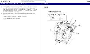 2005 acura mdx air conditioning vent passenger side diagram