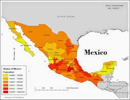 Map Of Baja Mexico by Chris U0027s Gis Blog Three Maps Of Mexico