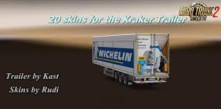 Rudi S Skin Pack For Kraker Trailer 1 27 X Download Ets 2 Mods
