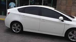 toyota california window tint on a toyota prius persona series marina del rey ca