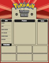 Pokemon Meme Generator - pokemon trainer meme template by rachelfrasier on deviantart