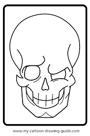 13 pics of simple skull coloring pages sugar skull coloring