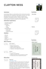 Interpersonal Skills Resume Example by Farm Hand Resume Samples Visualcv Resume Samples Database