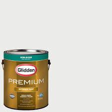 glidden premium 1 qt high gloss latex white interior exterior