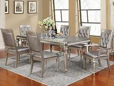 silver dining sets ebay awesome silver dining room sets home