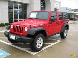 red jeep rubicon 2011 flame red jeep wrangler unlimited rubicon 4x4 39149085
