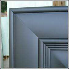 How To Spray Paint Doors - how to paint your cabinets professionally using spray paint